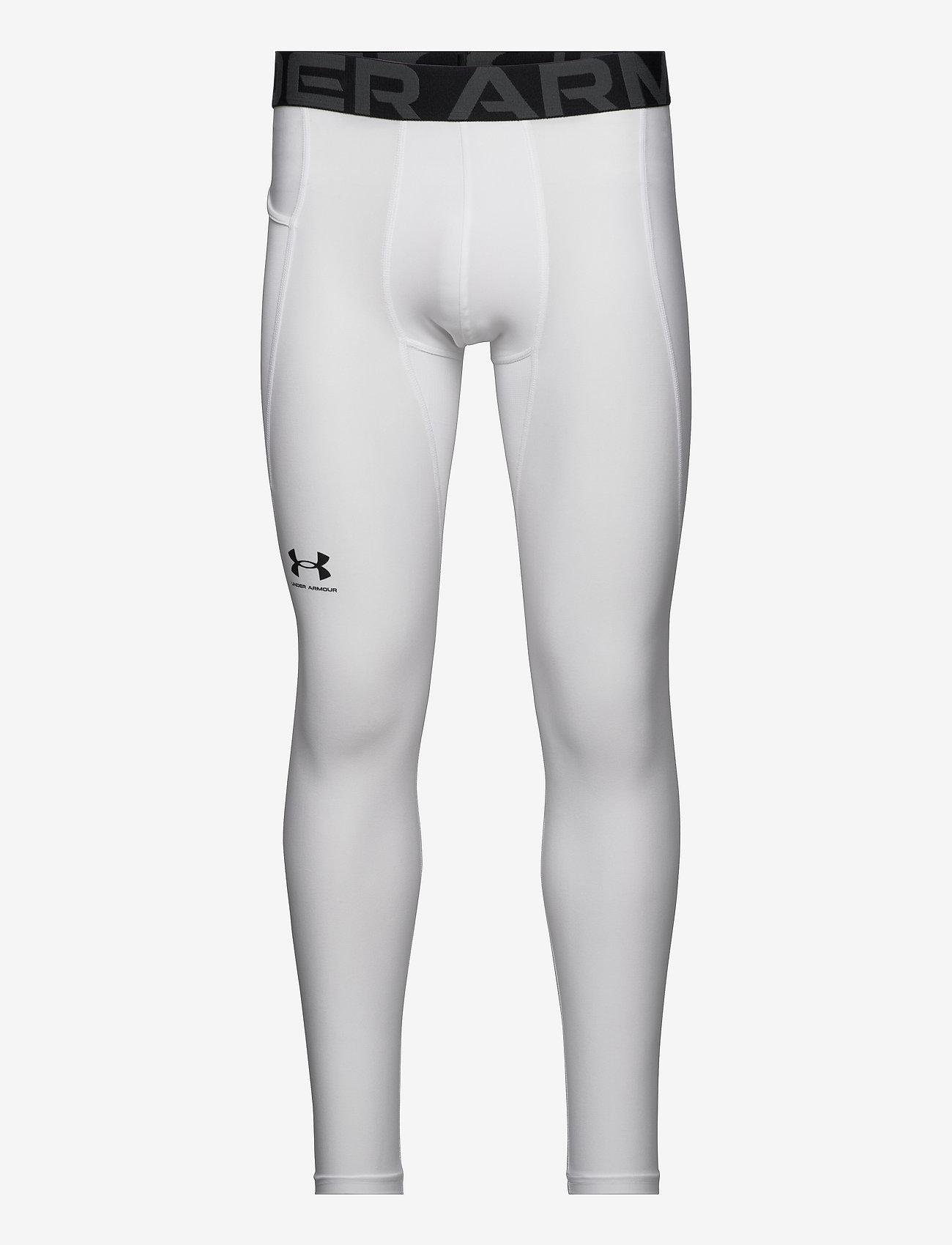 Under Armour - UA HG Armour Leggings - termo leggings - white - 0