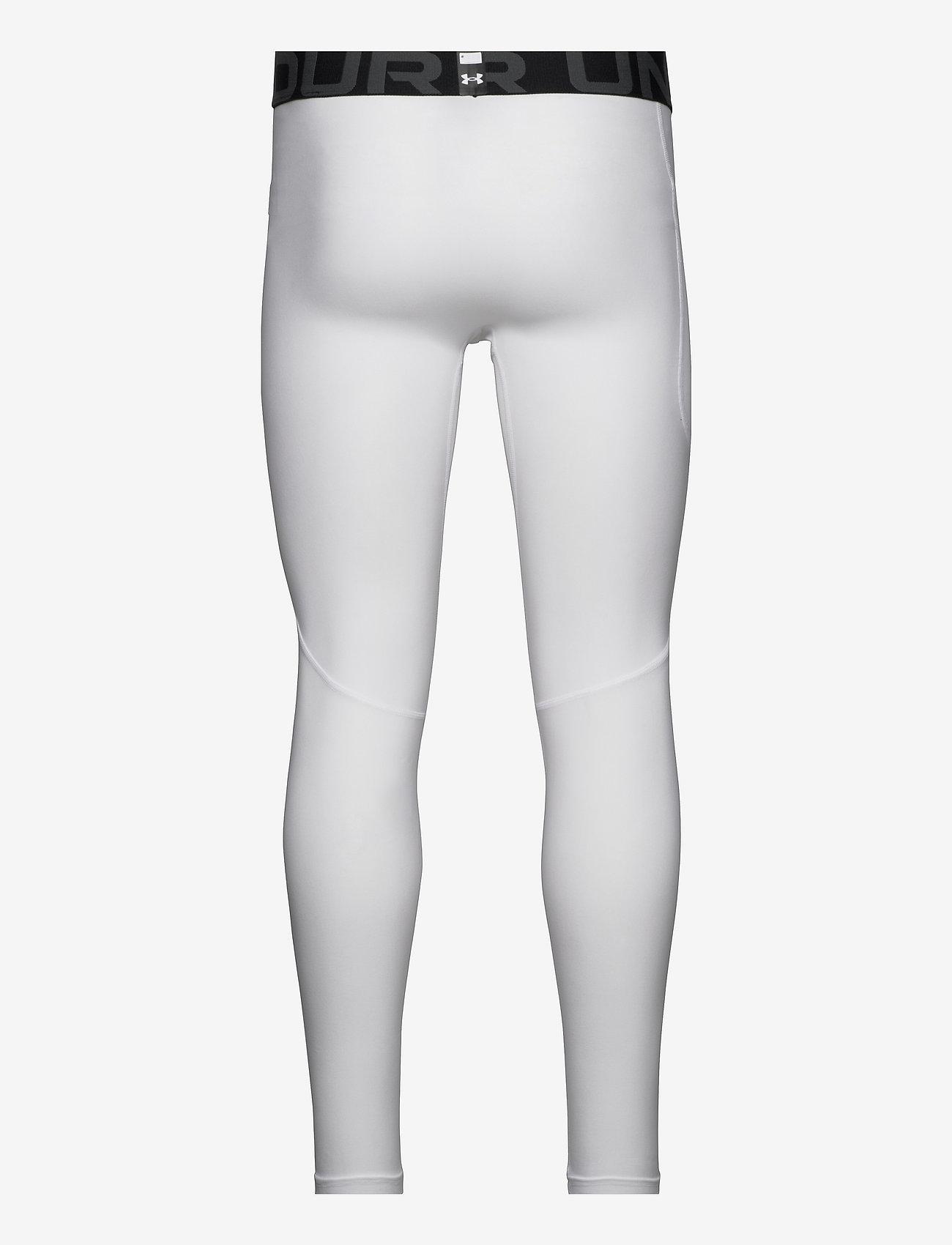 Under Armour - UA HG Armour Leggings - termo leggings - white - 1