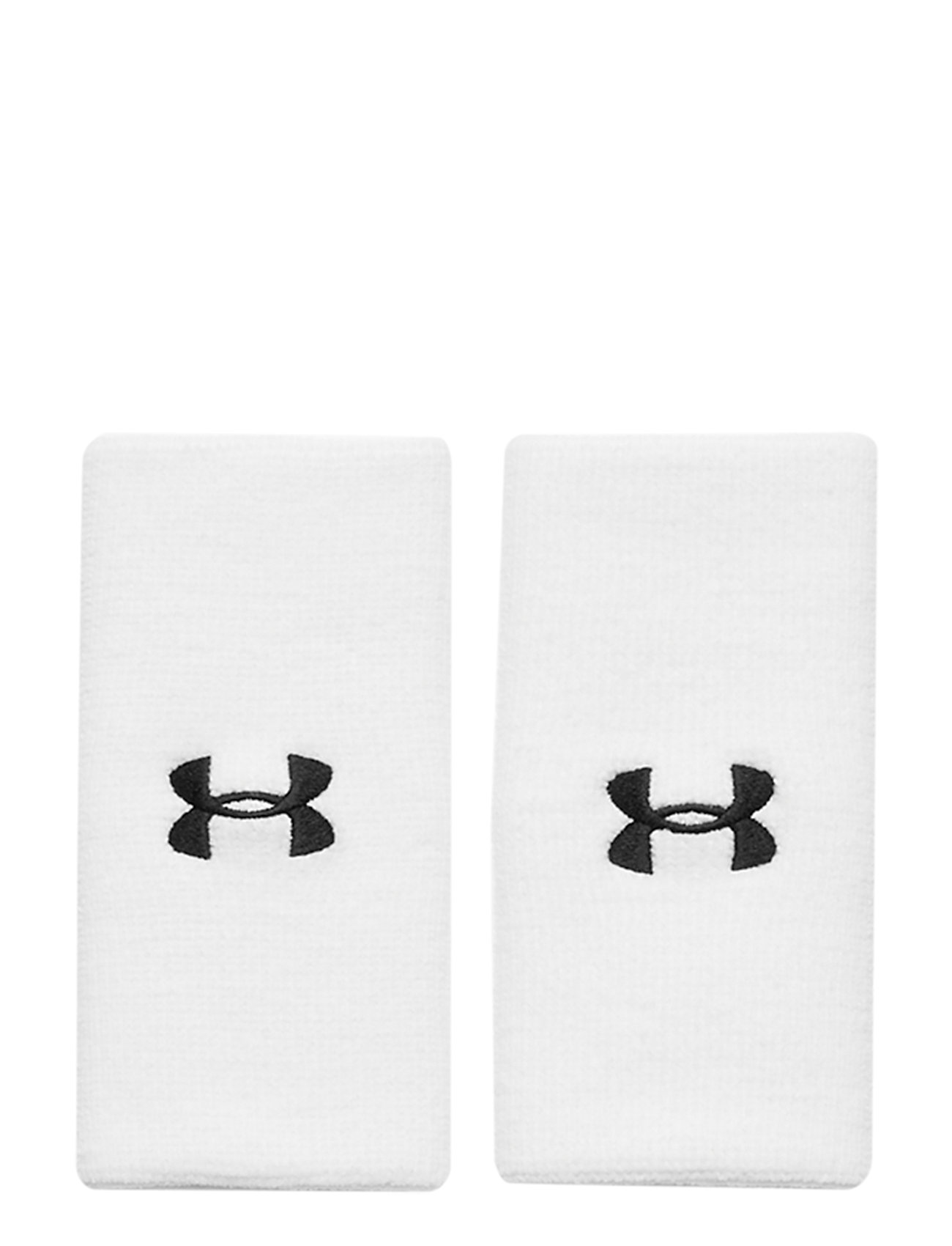 Under Armour Ua 6 Performance Wristband Accessories Training Equipments Hvid Under Armour