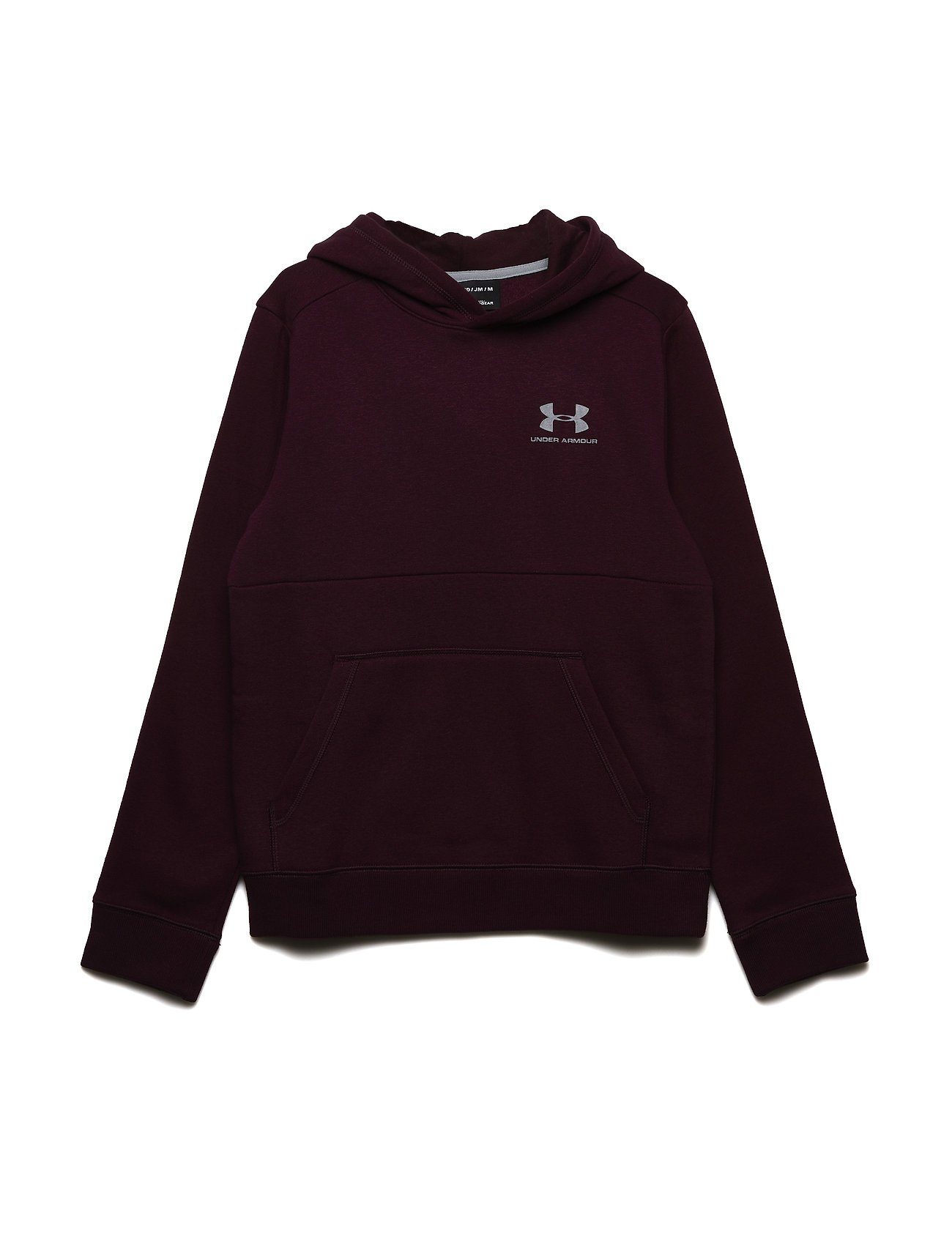 Under Armour EU COTTON FLEECE HOODY - RED