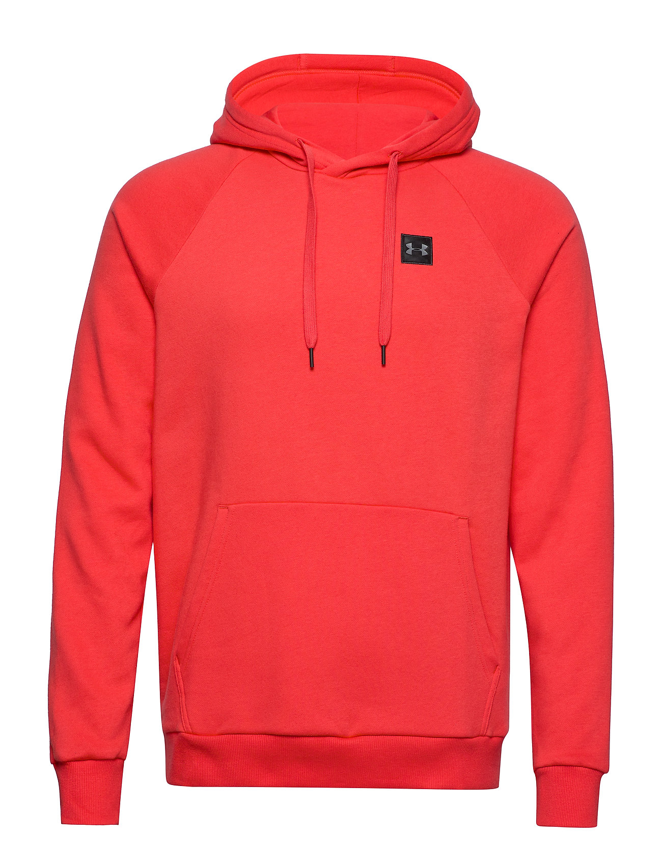 Under Armour RIVAL FLEECE PO HOODIE - MARTIAN RED
