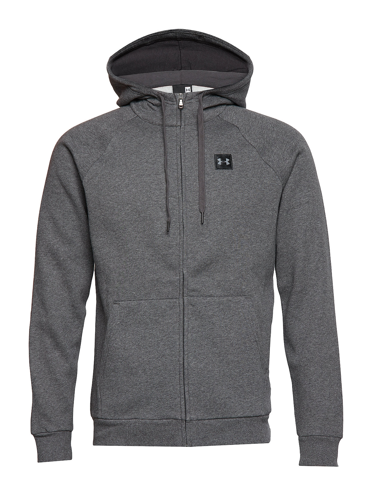 Under Armour RIVAL FLEECE FZ HOODIE - BLACK
