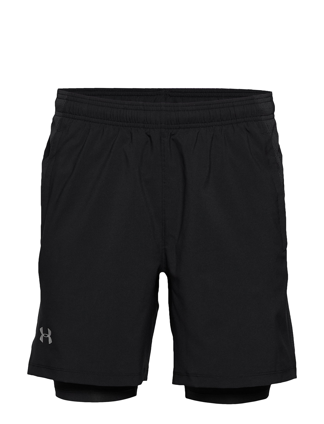 Under Armour UA LAUNCH SW 2-IN-1 SHORT - BLACK