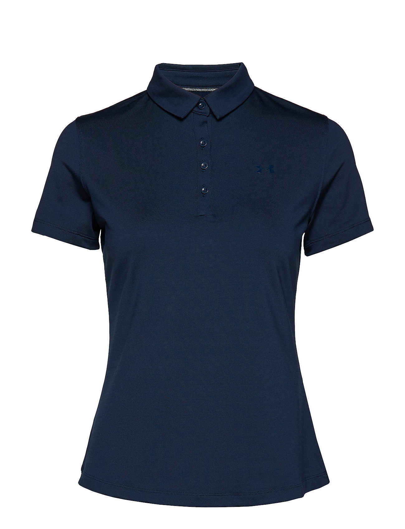 Under Armour Zinger Short Sleeve Polo - NAVY
