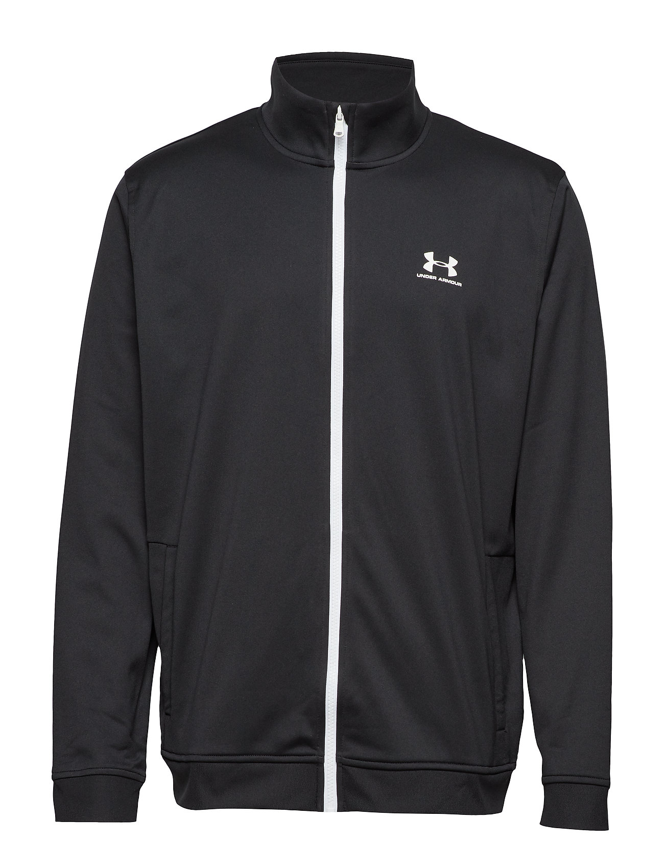 Under Armour SPORTSTYLE TRICOT JACKET - BLACK