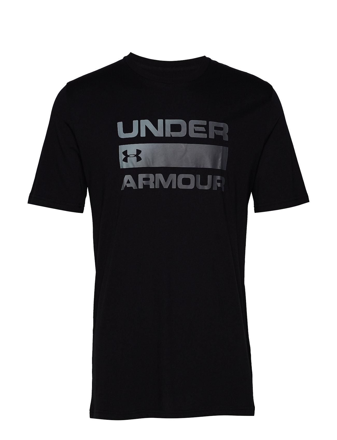 Under Armour UA TEAM ISSUE WORDMARK SS - BLACK