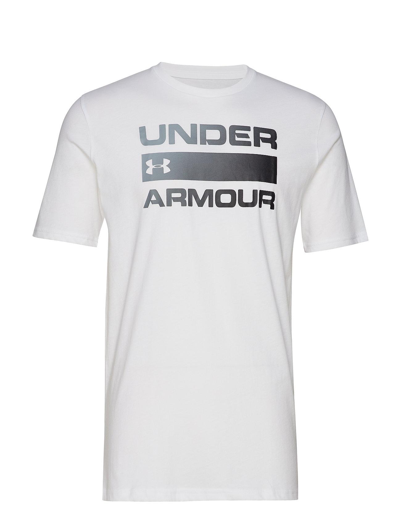 SswhiteUnder Team Issue Armour Wordmark Ua PkZuXi