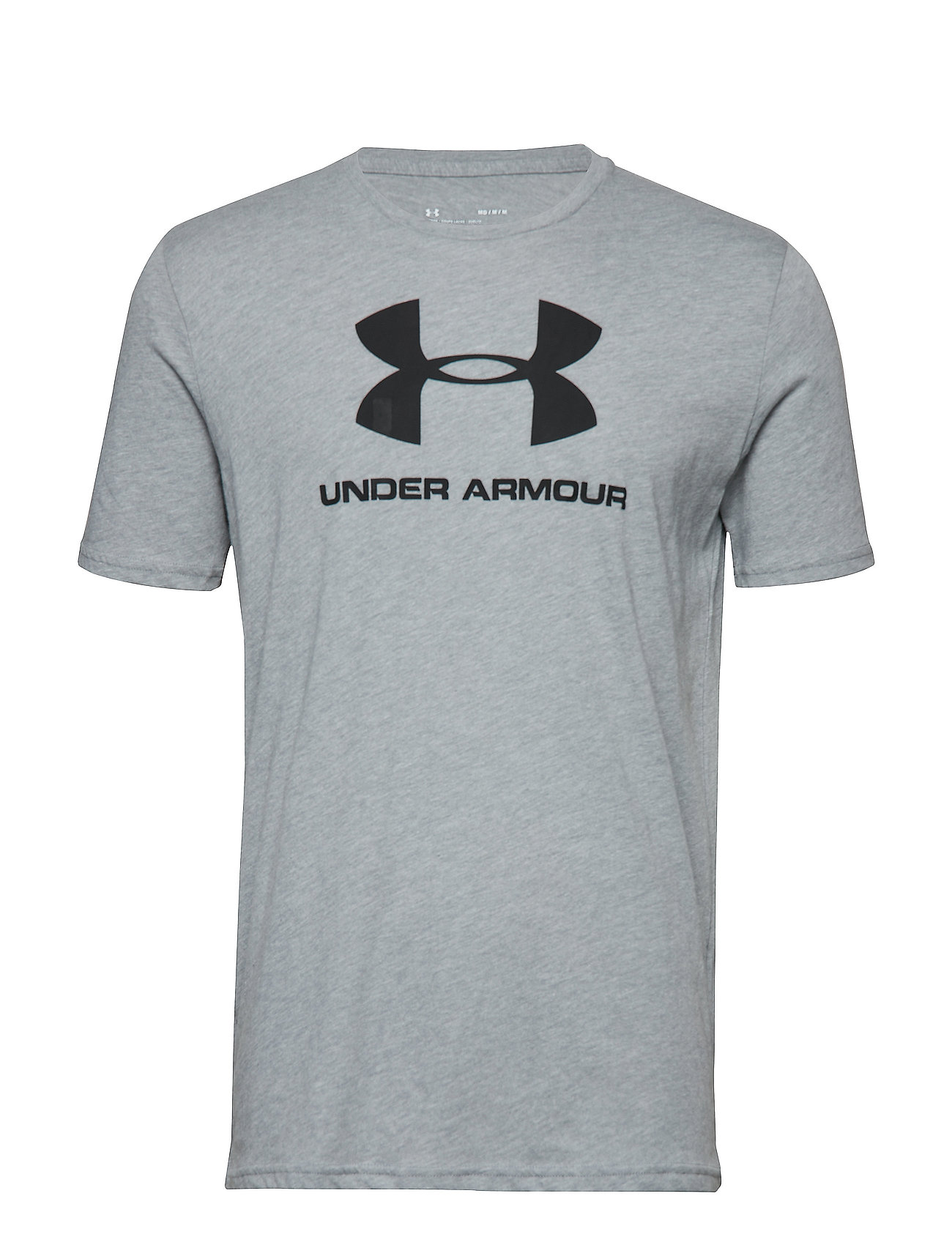 Under Armour SPORTSTYLE LOGO SS - STEEL LIGHT HEATHER