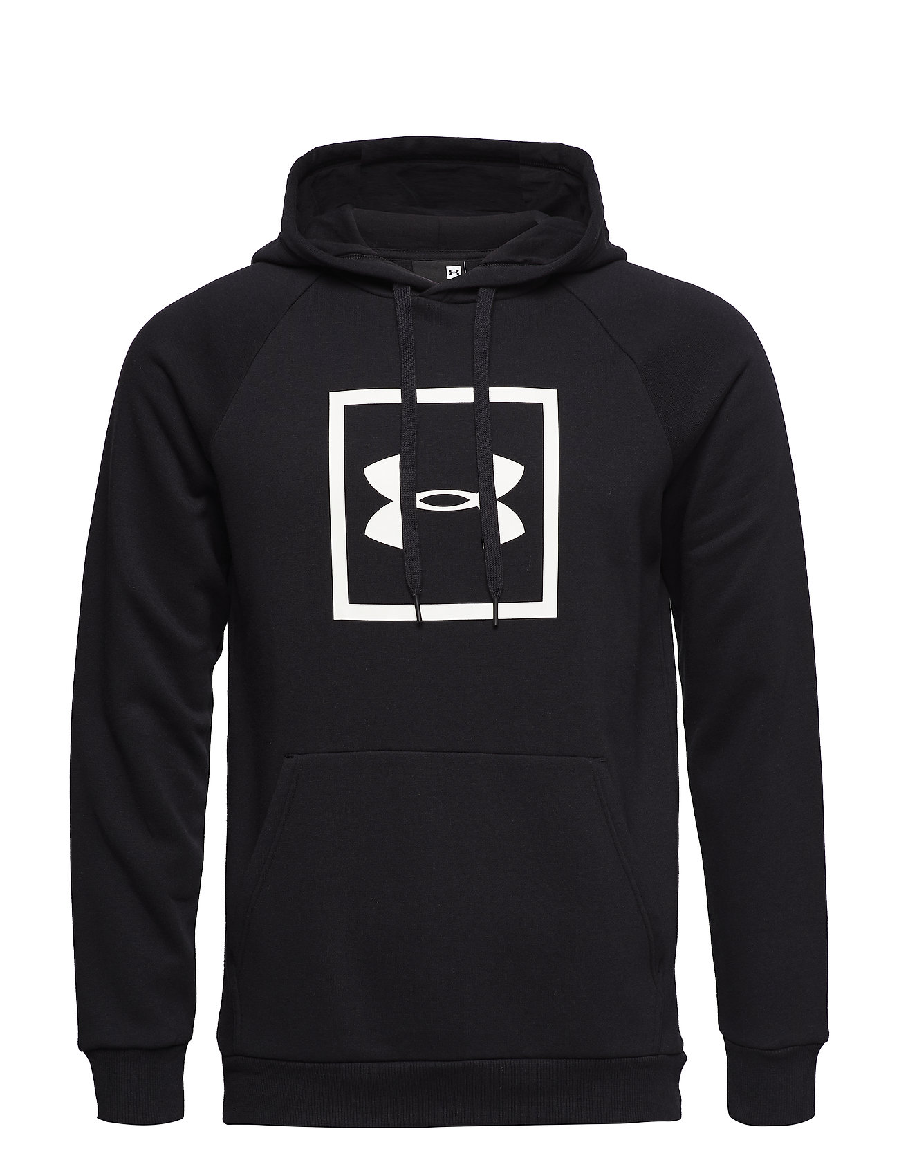 Under Armour RIVAL FLEECE LOGO HOODIE - BLACK