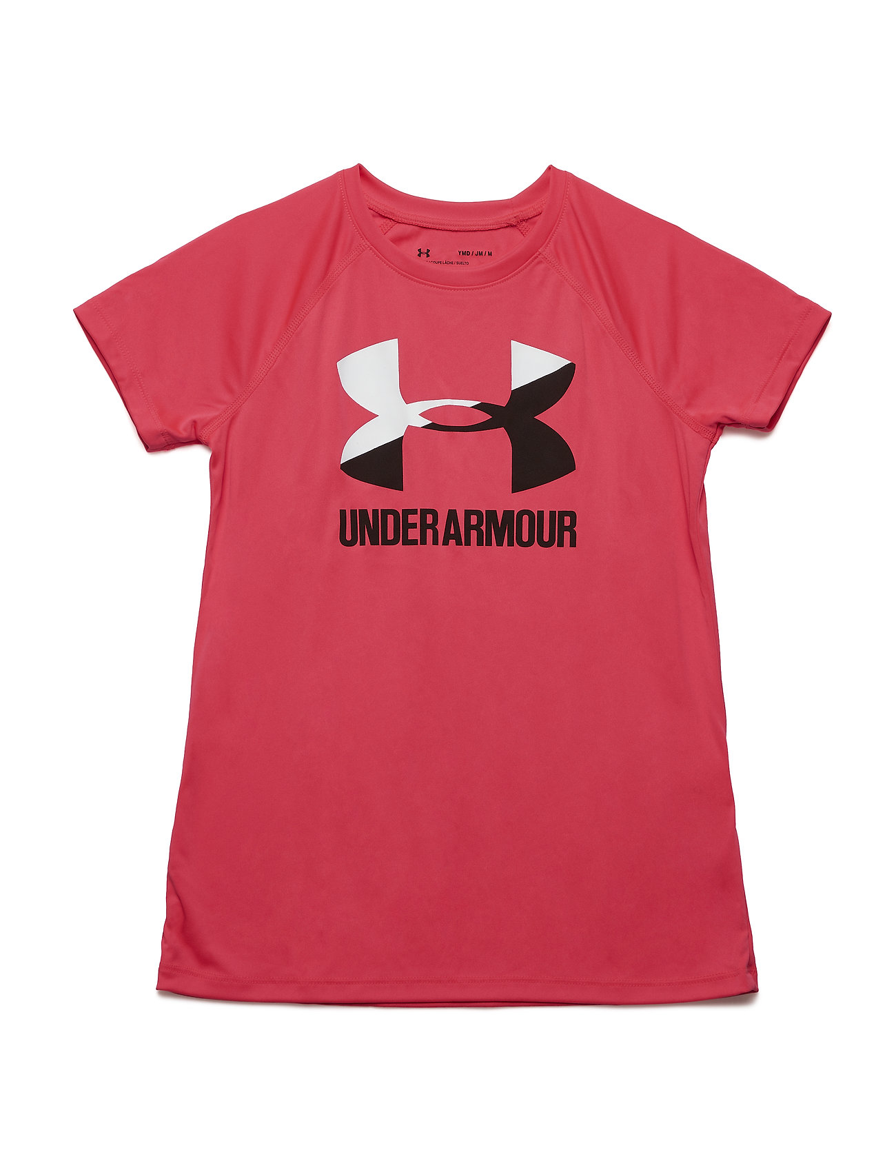 Under Armour Big Logo Tee Solid SS - PINK
