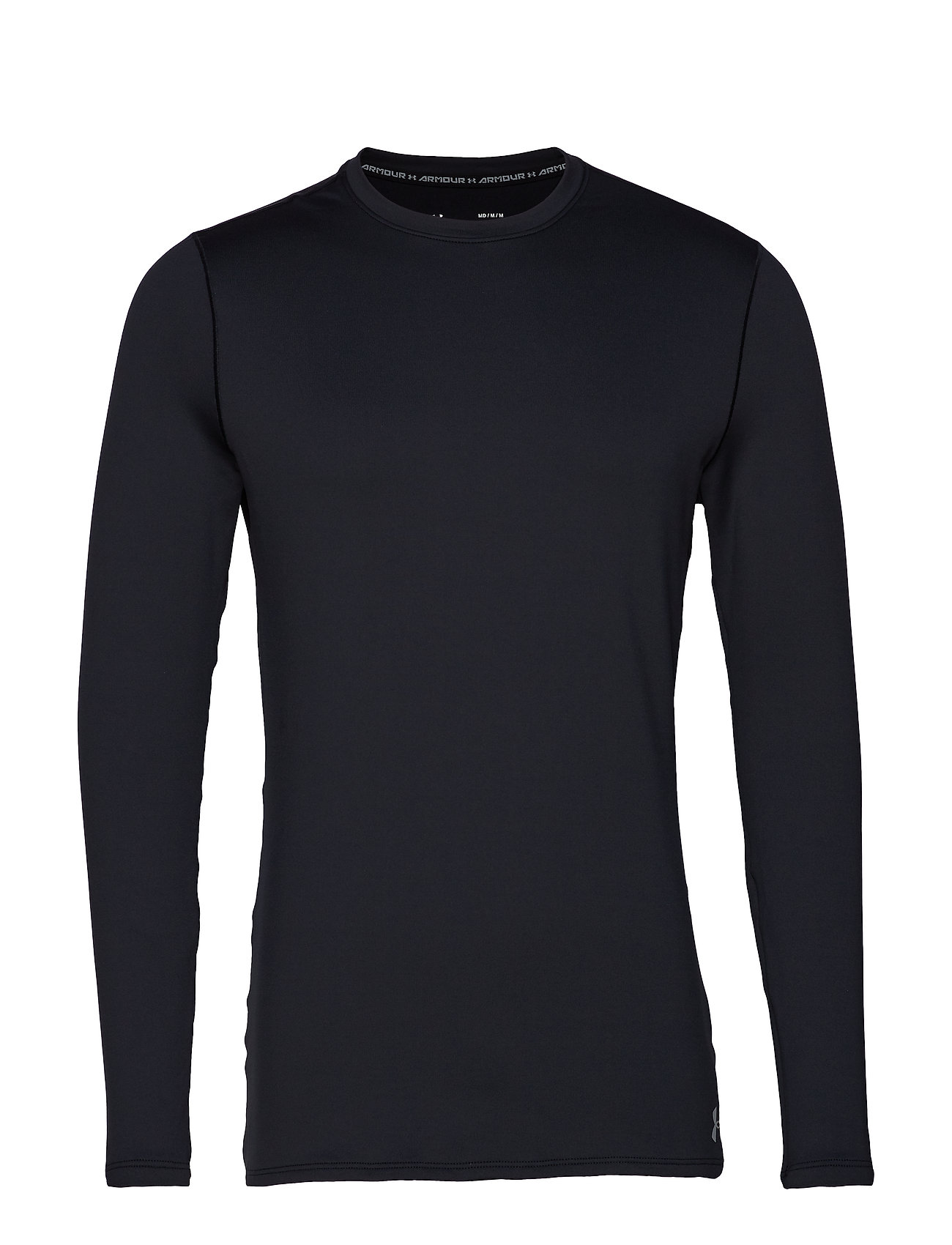 Under Armour UA ColdGear Fitted Crew - BLACK