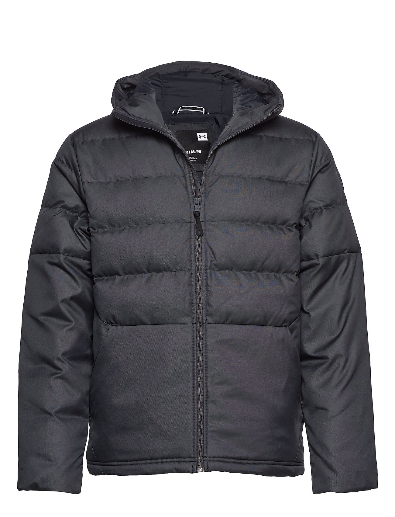Under Armour UA SPORTSTYLE DOWN HOODED JACKET - BLACK
