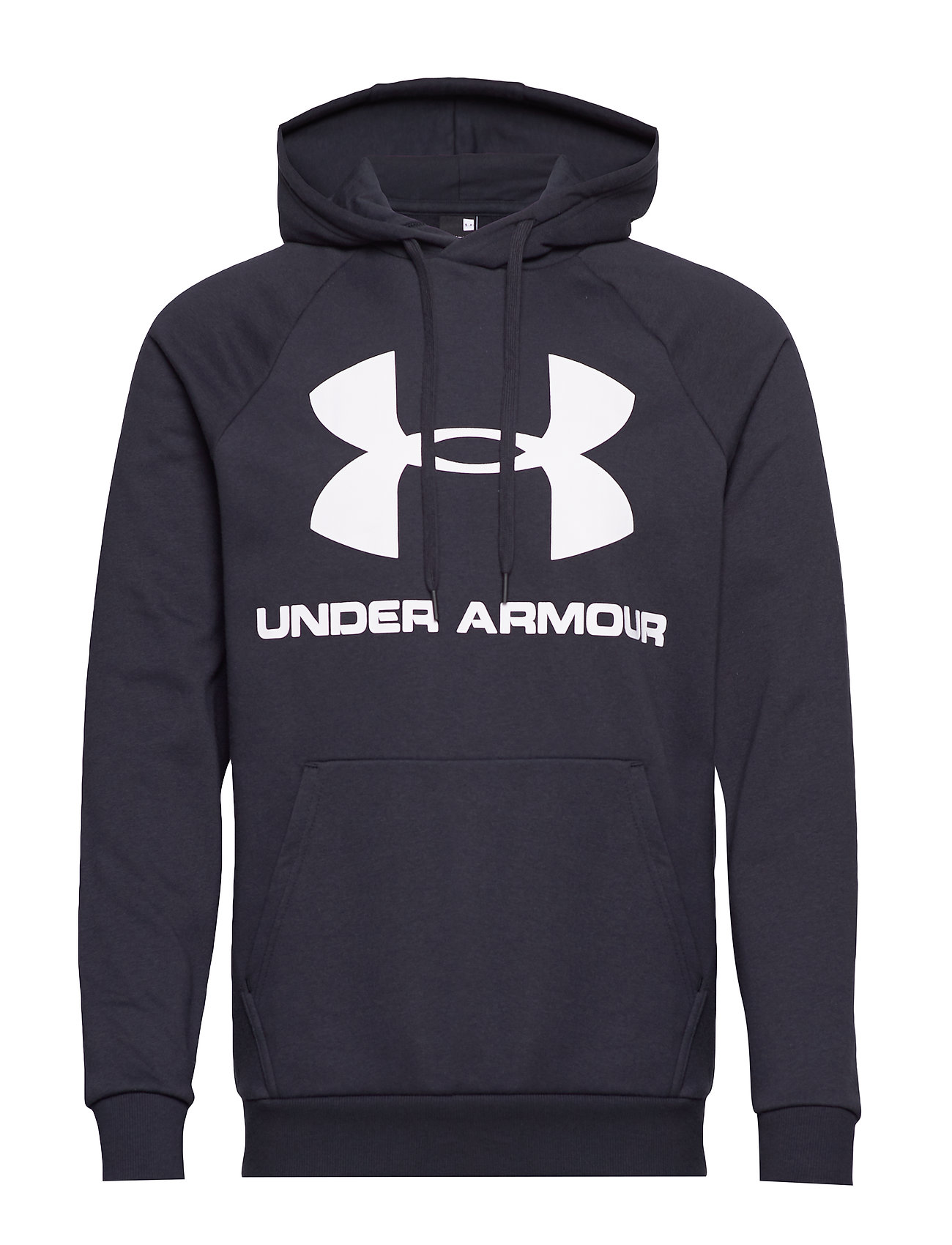 Under Armour RIVAL FLEECE SPORTSTYLE LOGO HOODIE - BLACK