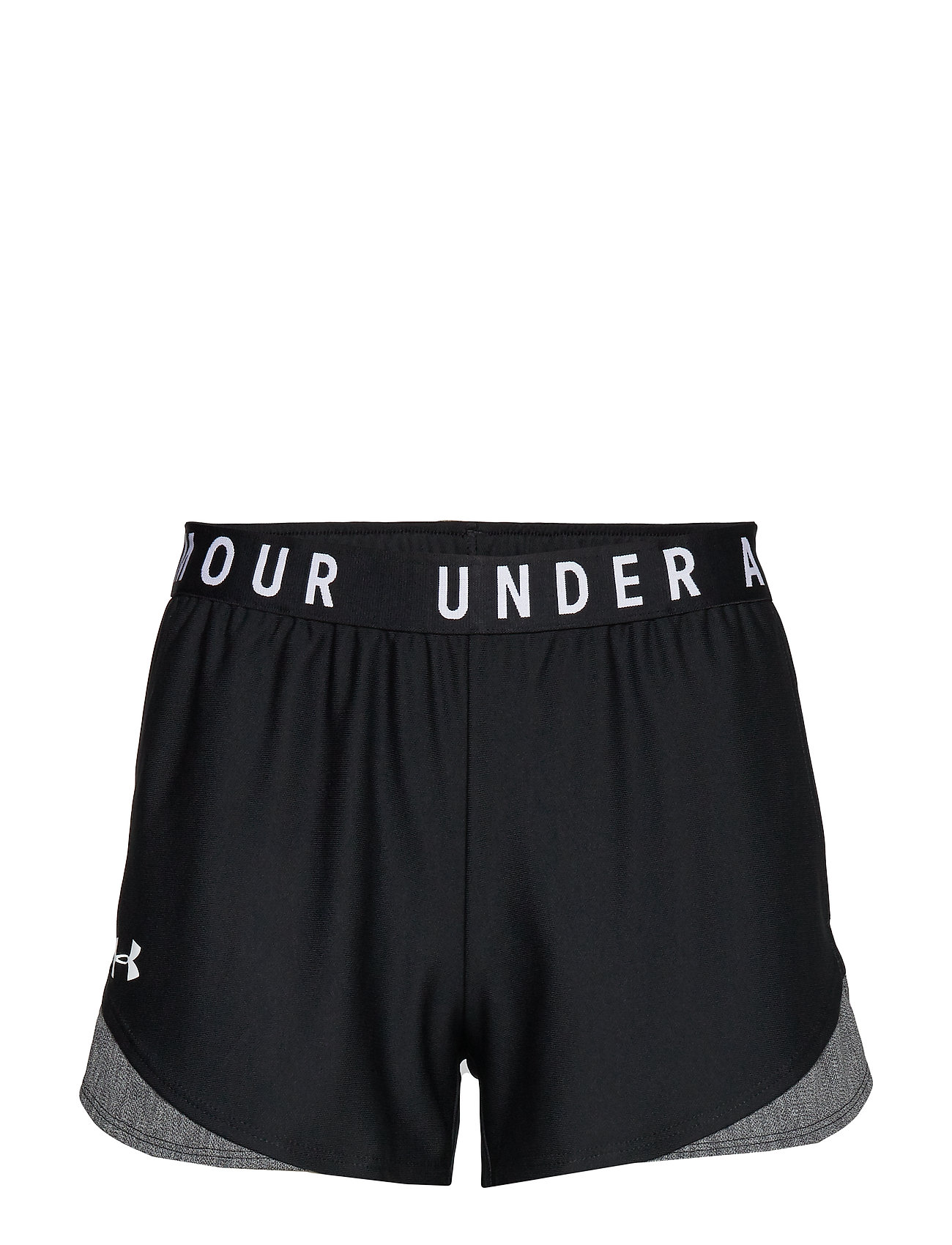 Under Armour PLAY UP SHORT 3.0 TWIST INSET - BLACK