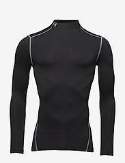 Under Armour - UA CG ARMOUR MOCK - bluzki z długim rękawem - black - 0