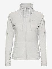Under Armour - Tech Full Zip Twist - sweatshirts - halo gray - 1