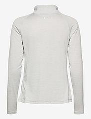 Under Armour - Tech Full Zip Twist - sweatshirts - halo gray - 2