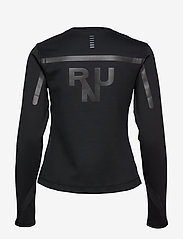 Under Armour - UA QUALIFIER COLDGEAR LONG SLEEVE - logo t-shirts - black - 1