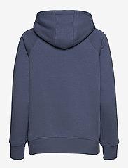 Under Armour - Rival Fleece Logo Hoodie - huvtröjor - mineral blue - 1
