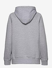 Under Armour - Rival Fleece Logo Hoodie - huvtröjor - steel medium heather - 1