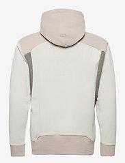 Under Armour - UA Recover Fleece FZ Hoodie - podstawowe bluzy - summit white - 1