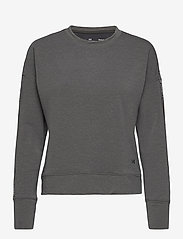 Under Armour - UA Rival Terry Taped Crew - sweatshirts - jet gray - 0