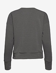 Under Armour - UA Rival Terry Taped Crew - sweatshirts - jet gray - 1