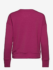 Under Armour - UA Rival Terry Taped Crew - sweatshirts - meteor pink - 1
