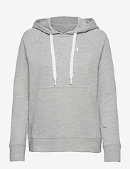 Under Armour - UA Rival Terry PO HOODIE - huvtröjor - steel full heather - 0