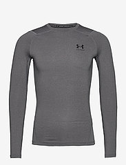 Under Armour - UA HG Armour Comp LS - base layer tops - carbon heather - 0