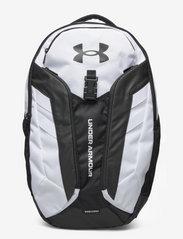 UA Hustle Pro Backpack - WHITE