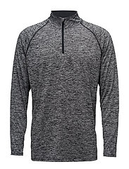 UA TECH 1/4 ZIP - BLACK