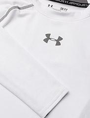 Under Armour - UA HG ARMOUR LS - bluzki z długim rękawem - white - 2