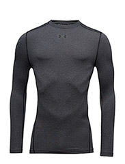 UA CG ARMOUR CREW - CARBON HEATHER