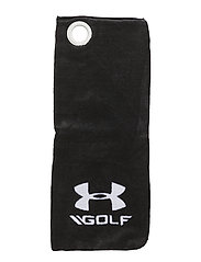 UA GOLF TOWEL - BLACK