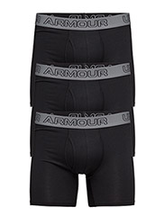 Charged Cotton 6in 3Pk - BLACK