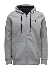 STORM RIVAL COTTON FULL ZIP - TRUE GREY HEATHER