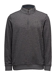 UA STORM SWEATERFLEECE QZ - CARBON HEATHER