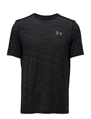 UA THREADBORNE SEAMLESS SS - BLACK