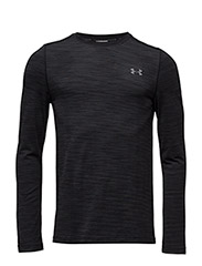 UA THREADBORNE SEAMLESS LS - BLACK