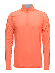 THREADBORNE FITTED 1/4 ZIP - MAGMA ORANGE