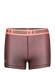 UA HG ARMOUR PRINTED SHORTY - LONDON ORANGE