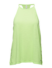 THREADBORNE FASHION TANK - QUIRKY LIME