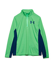 TEXTURED TECH 1/4 ZIP - ARENA GREEN