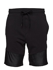 THREADBORNE TERRY SHORT - BLACK