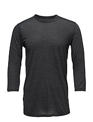 THREADBORNE UTILITY T - BLACK