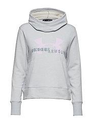 Cotton Fleece Sportstyle Logo hoodie - GRAY