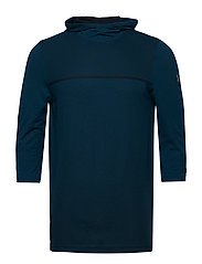 SIPHON UTILITY HOODIE - TECHNO TEAL