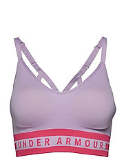 Seamless Longline Bra - PURPLE