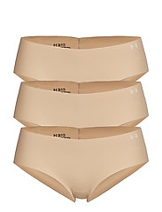 PS Hipster 3Pack - NUDE